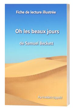 """Couverture """"Fiche de lecture illustrée - Oh les beaux jours, de Samuel Beckett"""""""