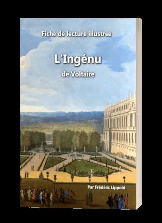 Couverture de la fiche de lecture de l'Ingénu (Voltaire)